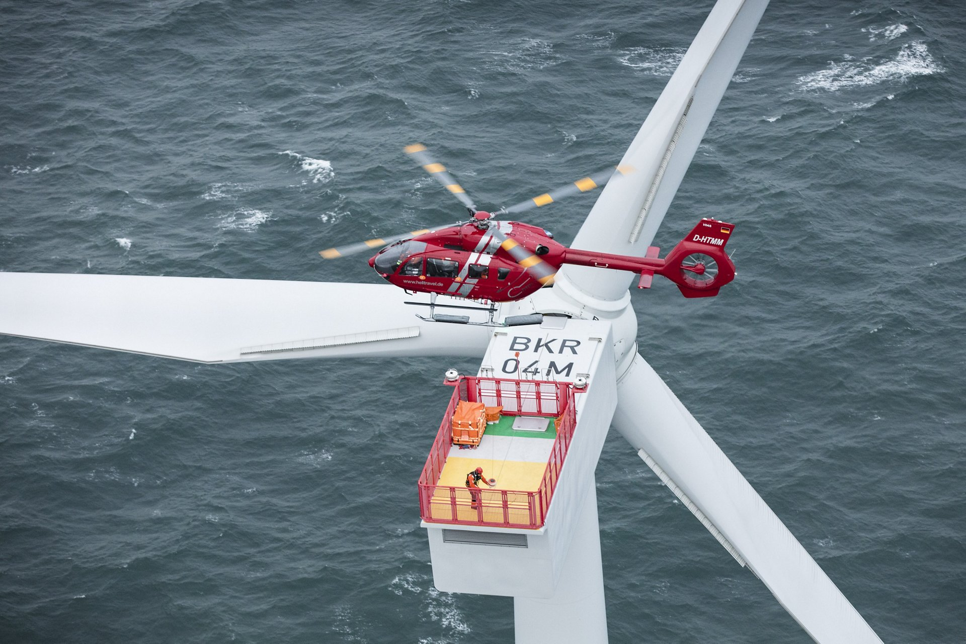HTM-Helicopters to become the first operator to use the new H145 for Offshore Wind operations