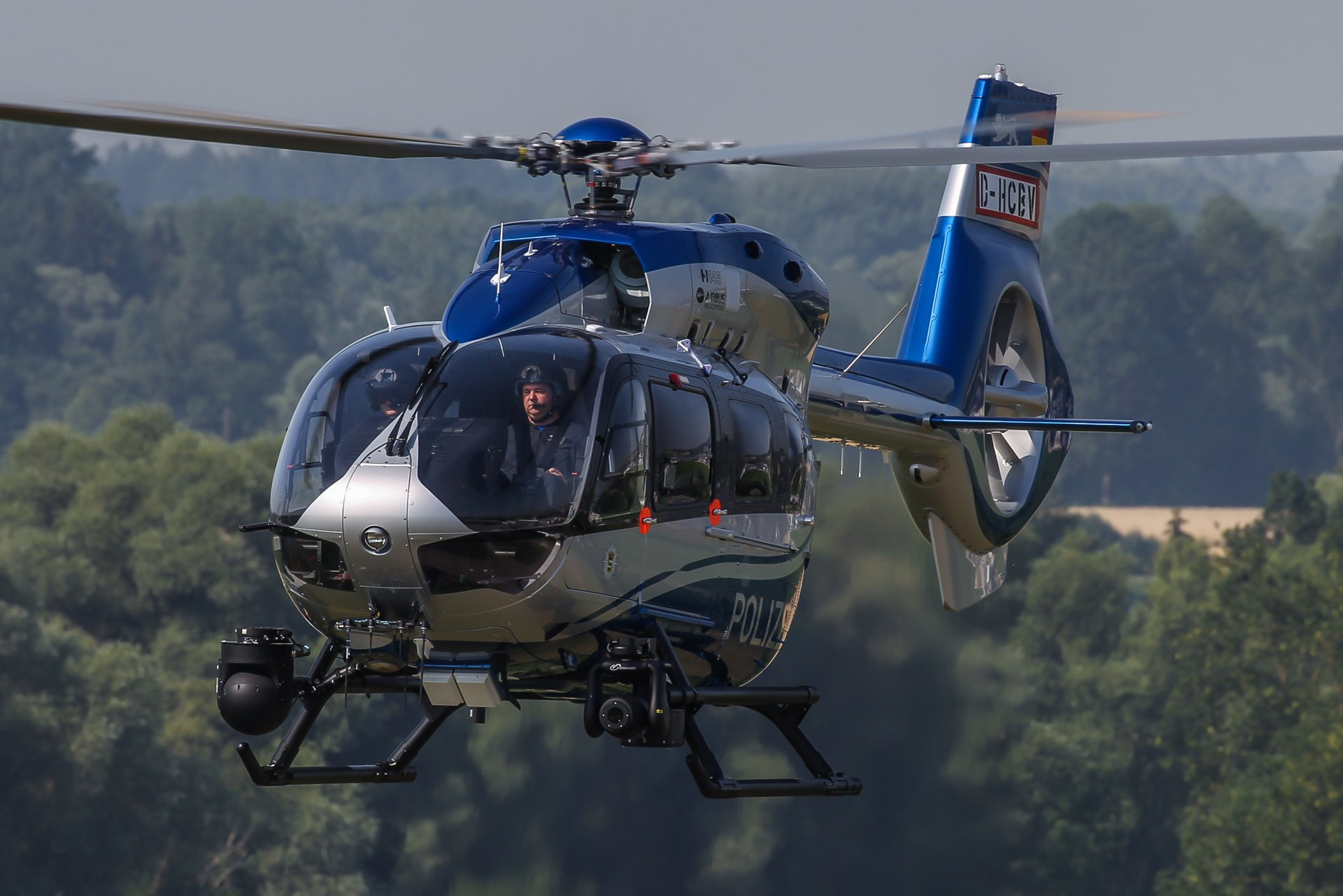 German State Police of Baden-Württemberg receive the world's first H145 in law enforcement configuration