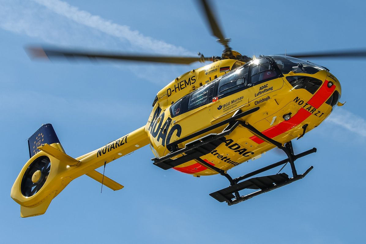 H145 operated by ADAC in Bavaria