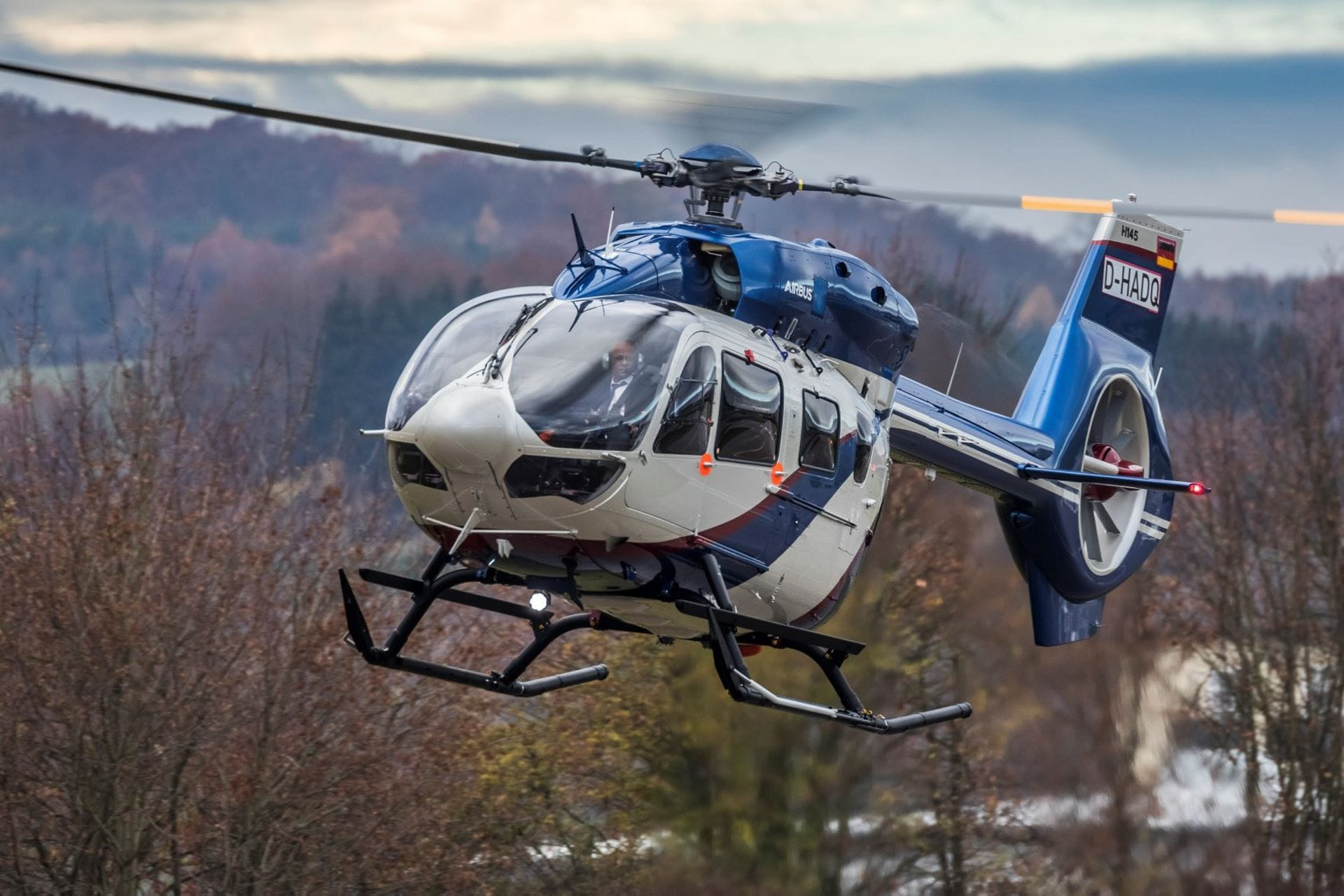 Heligo receives its first Airbus H145 helicopter from Milestone Aviation