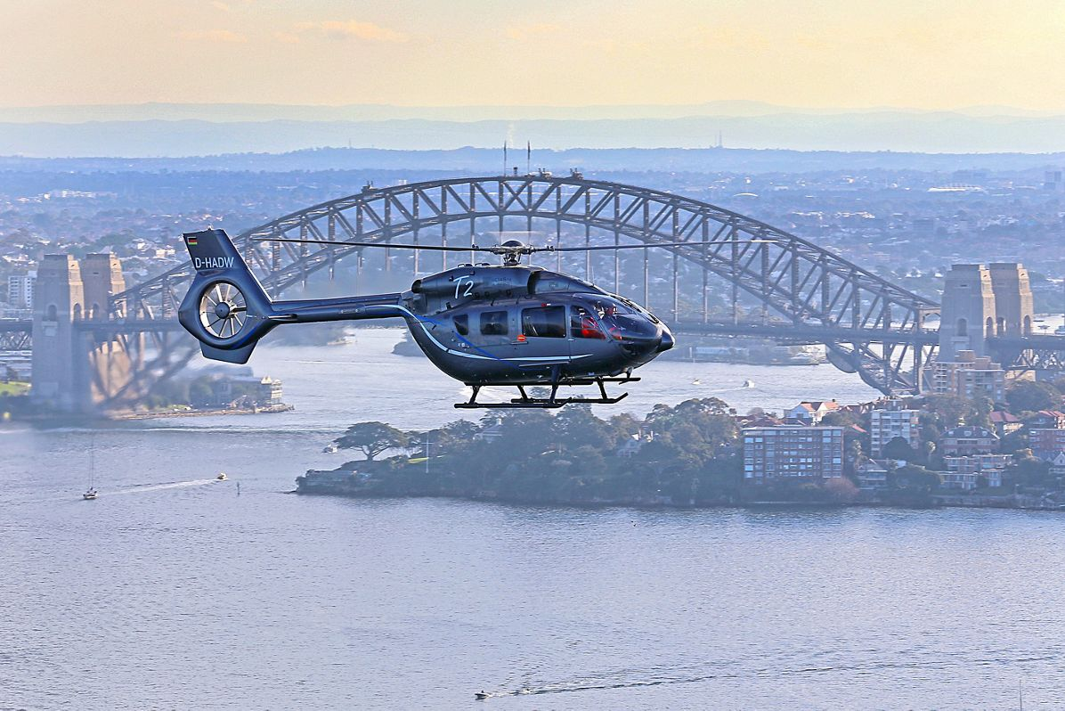 H145 Australian demonstration tour, The H145 heads to Queensland in its Australia Demo Tour