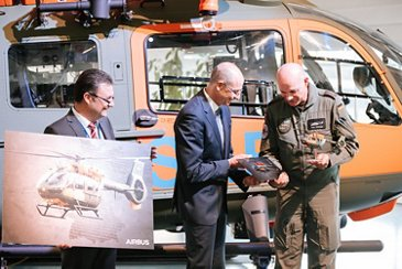 Delivery of first H145 for the German Armed Forces鈥� search and rescue service