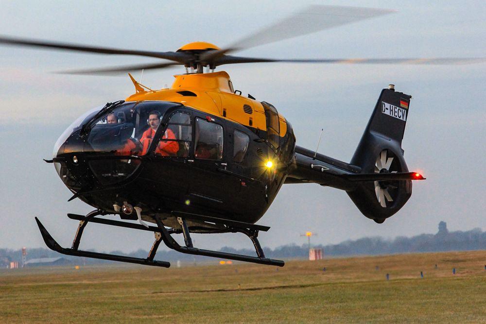First UKMFTS H135 Juno and H145 Jupiter Arrive in Britain