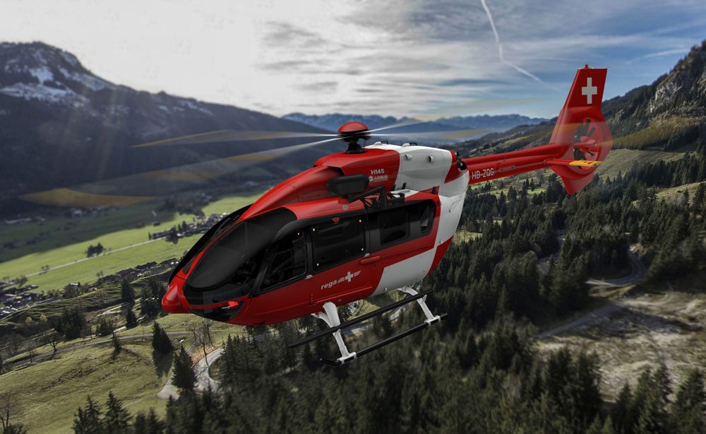 Swiss Air Rescue Service Rega renews its fleet with H145