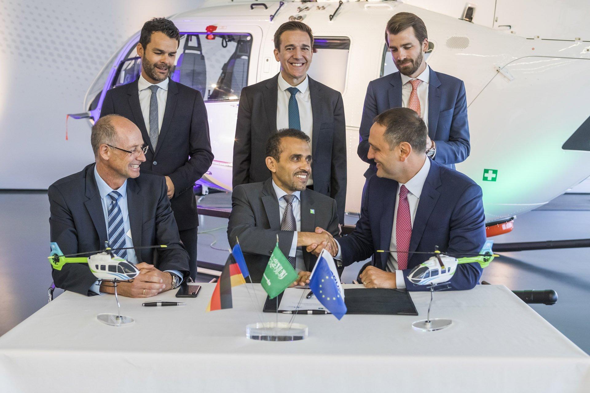 Signing Ceremony Aramco Milestone Airbus