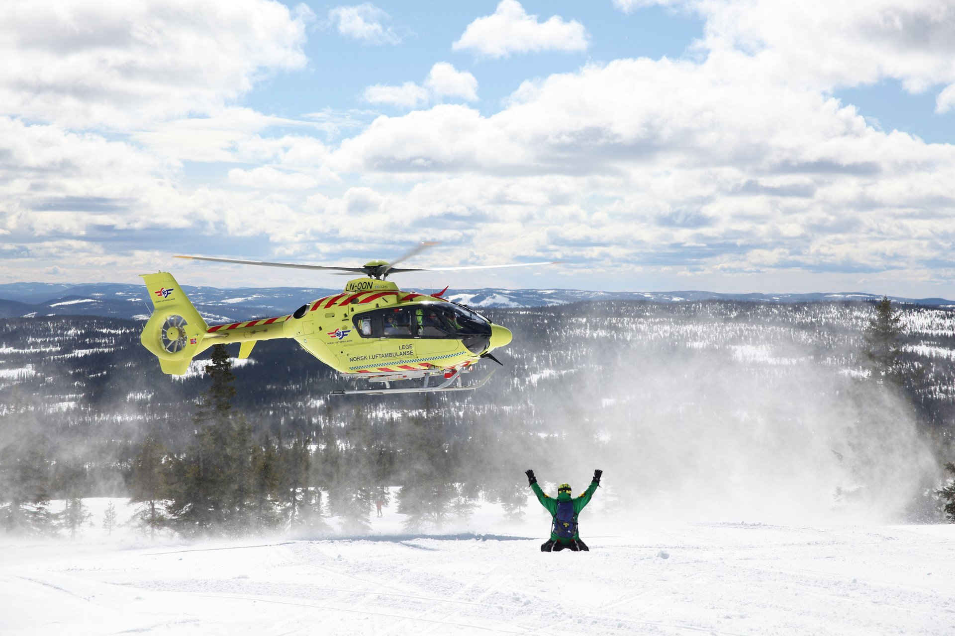 The H145 is ideally-suited for providing Helicopter Emergency Medical Services (HEMS) across Norway's challenging terrain