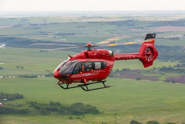 STARS H145 in flight