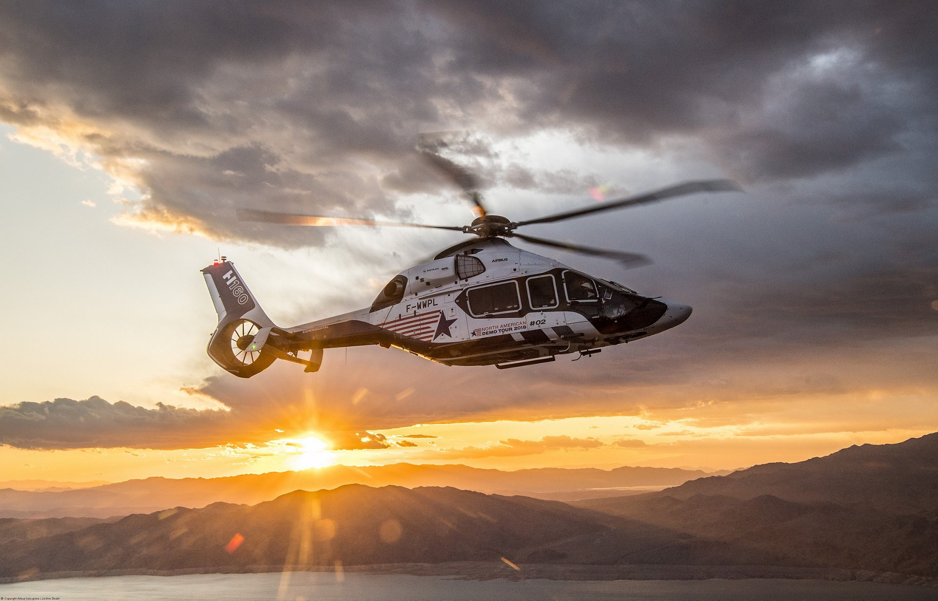 Airbus H160 2018 North American demo tour 4