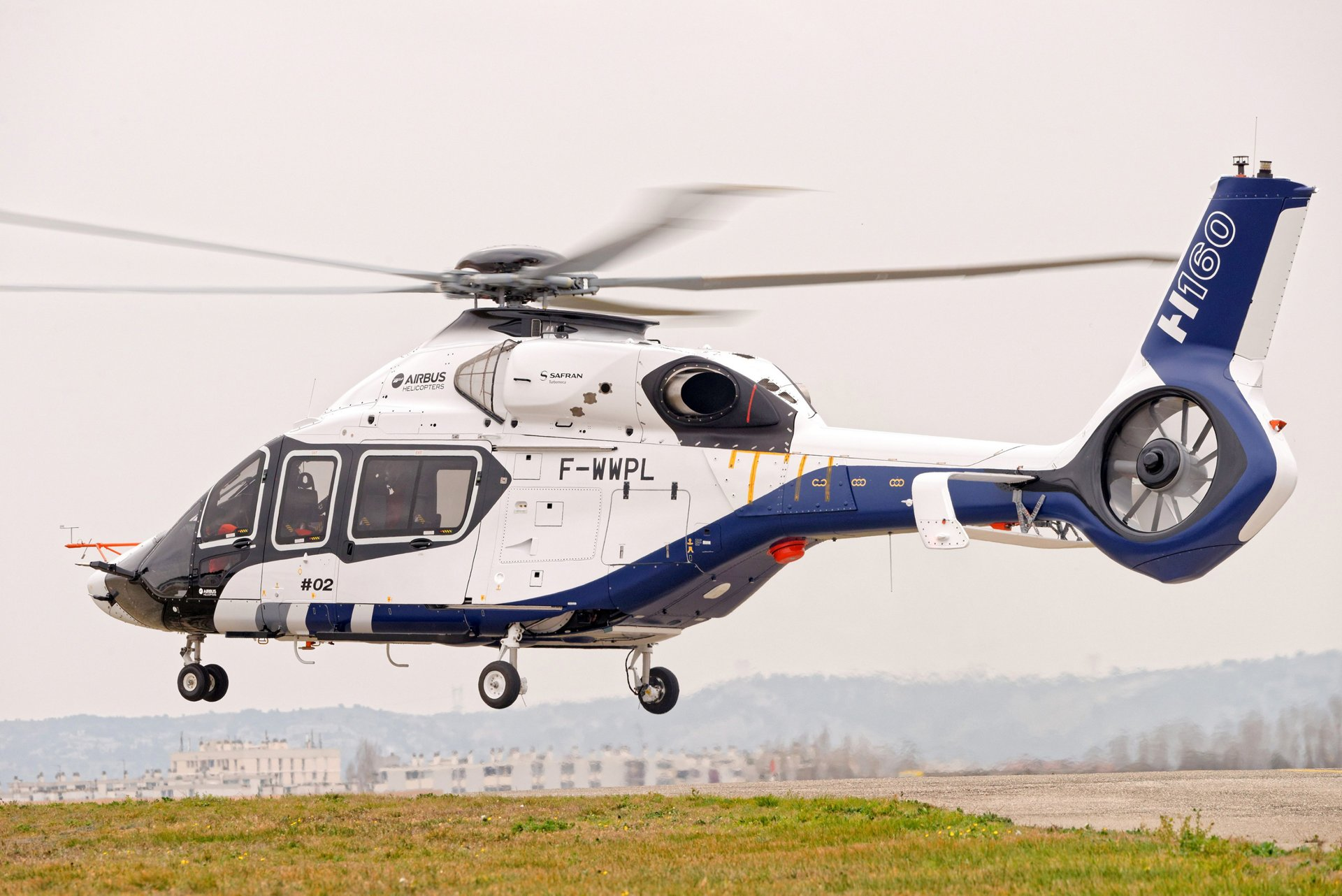 Airbus Helicopters' second H160 prototype takes off