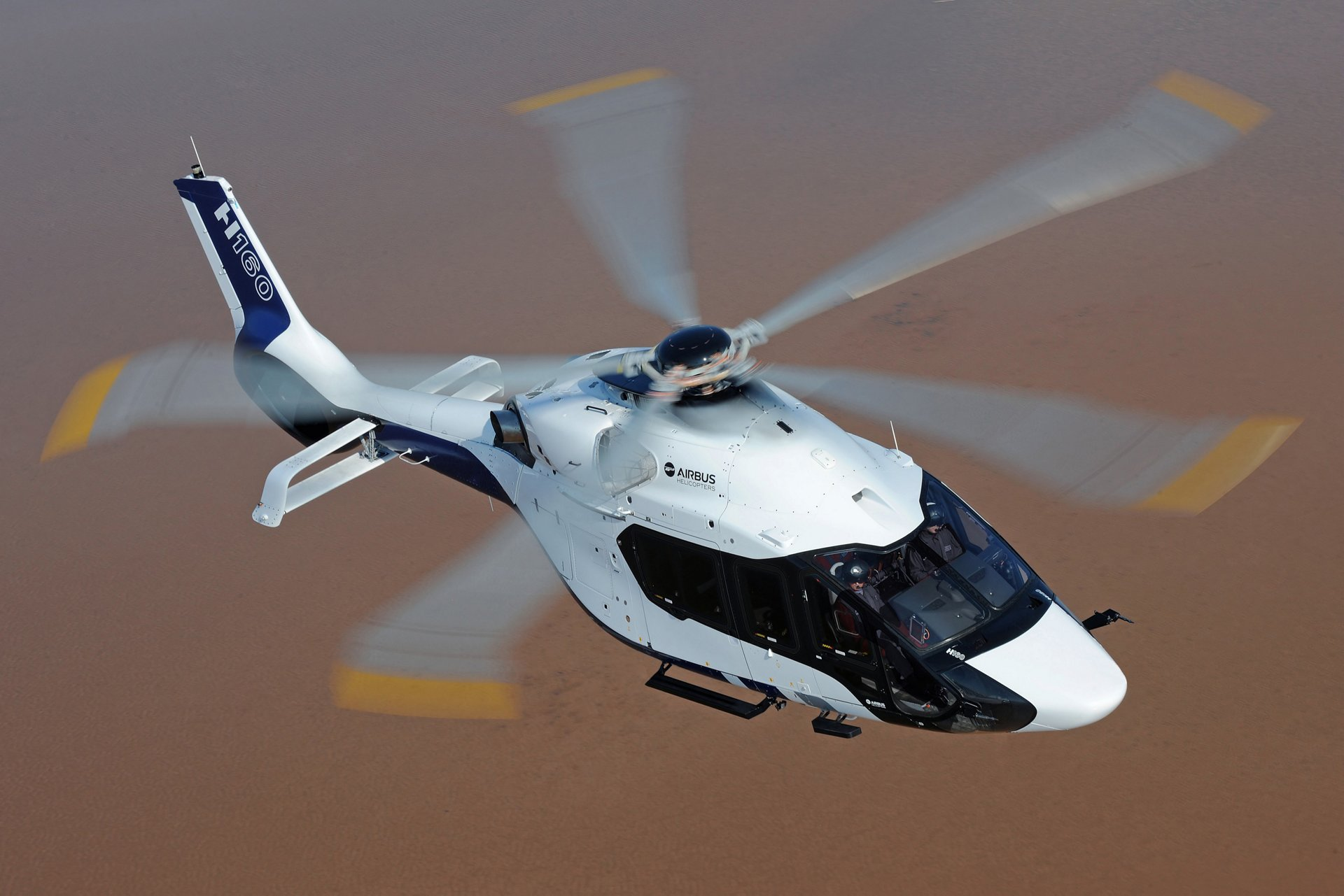 The H160 is Airbus Helicopters' innovative medium twin-engine helicopter designed to create added value for customers in terms of performance, economic competitiveness, safety and comfort.