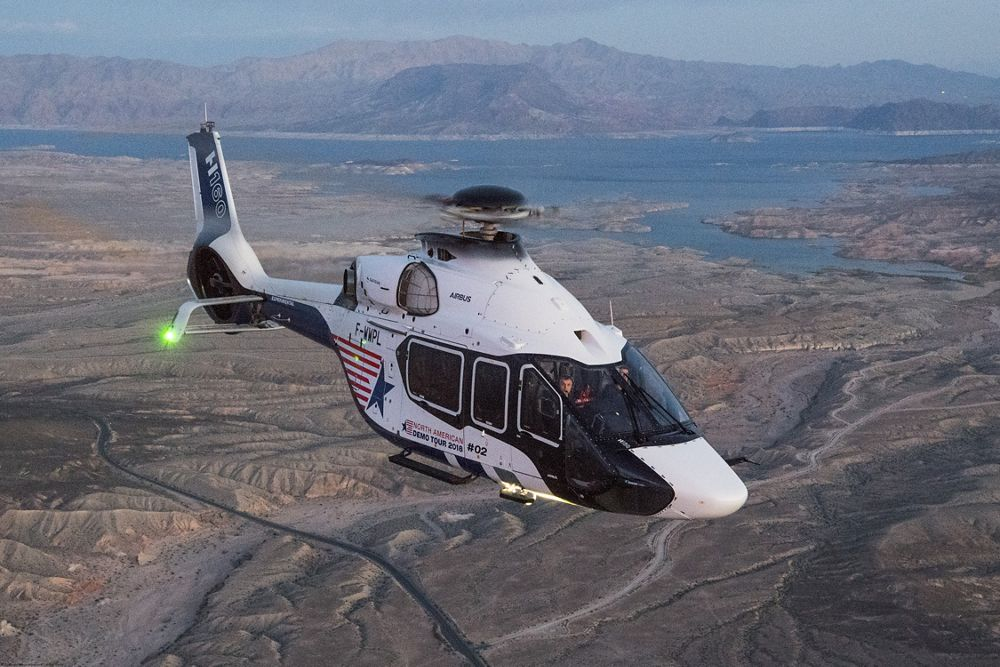 Follow the H160's North American demo tour