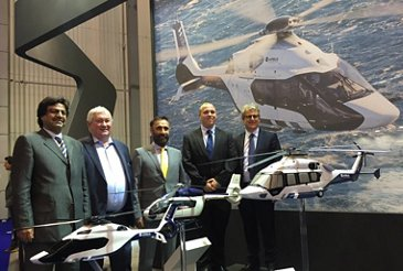 Falcon Aviation signs Letter of Intent for the VIP version of the H160