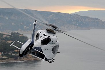 The variety and versatility of Airbus Helicopters' range on display at Helitech 2017