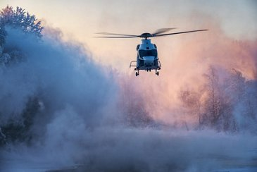 AG真人计划 H160 helicopter happily handles Finland鈥檚 freezing winter