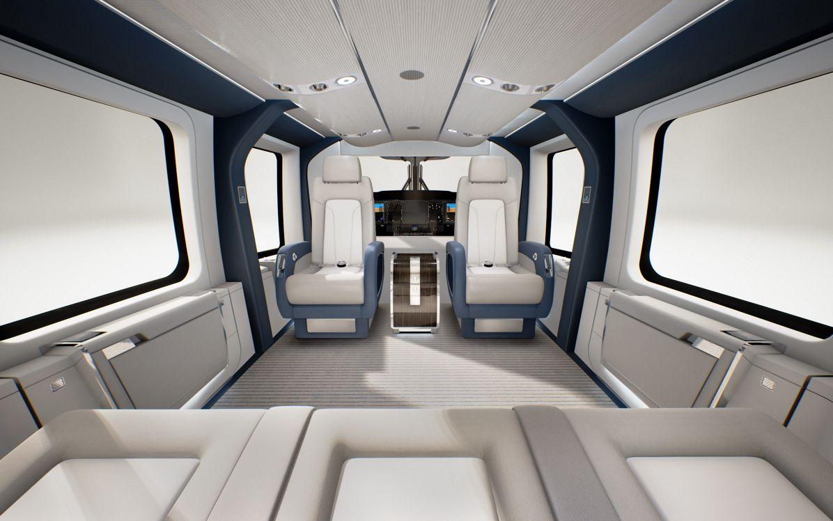 Airbus Helicopters stellt VIP-Version der H160 auf der EBACE vor