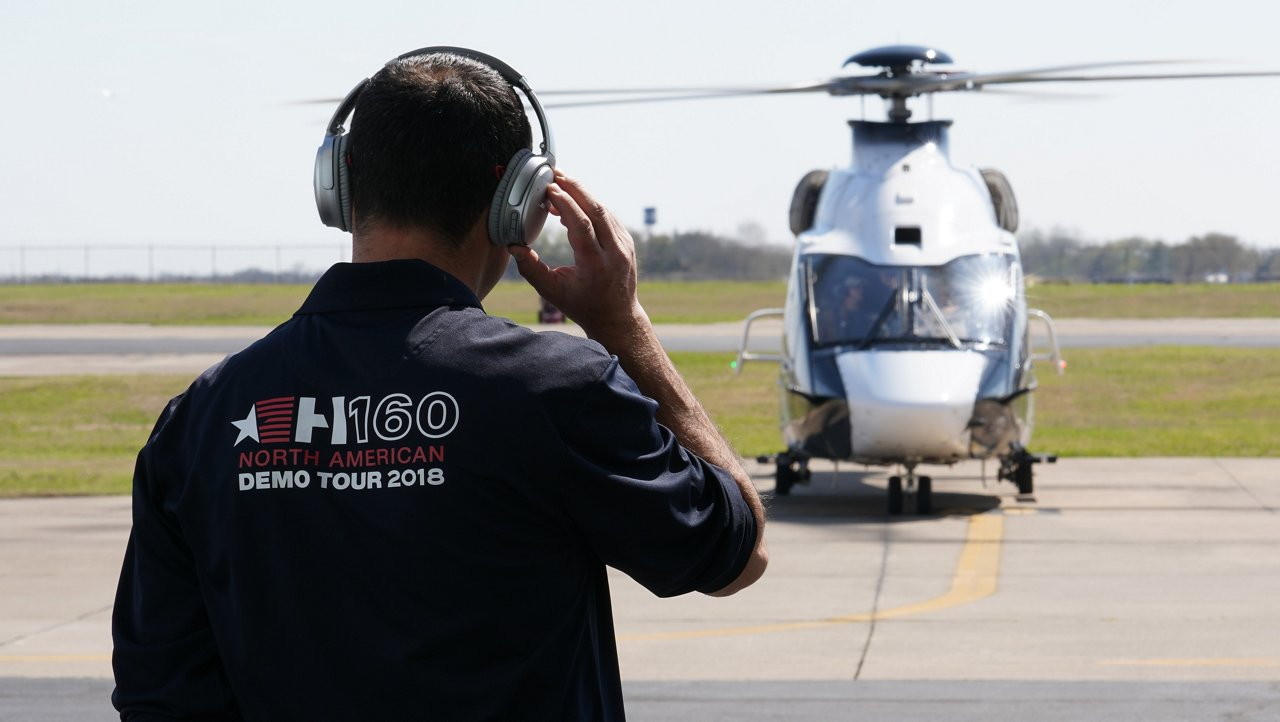 The H160 North American demo tour
