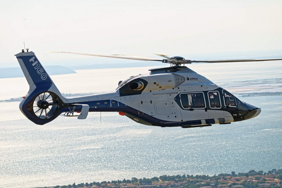 Airbus Helicopters H160 Flight Test campaign launched