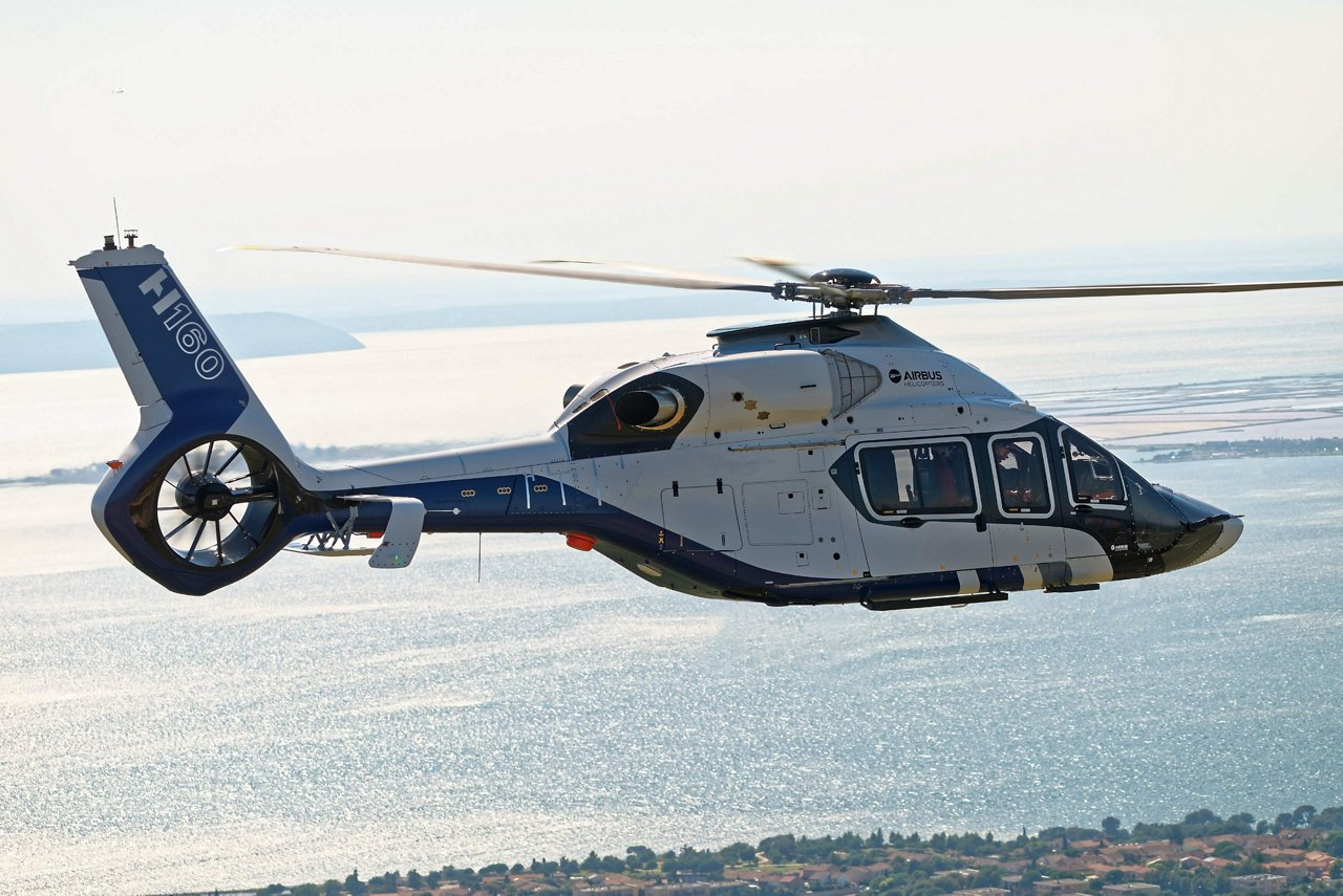 AG真人计划 Helicopters H160 Flight Test campaign launched