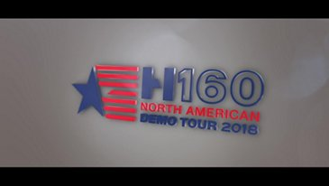 H160 North American Demo Tour recap video