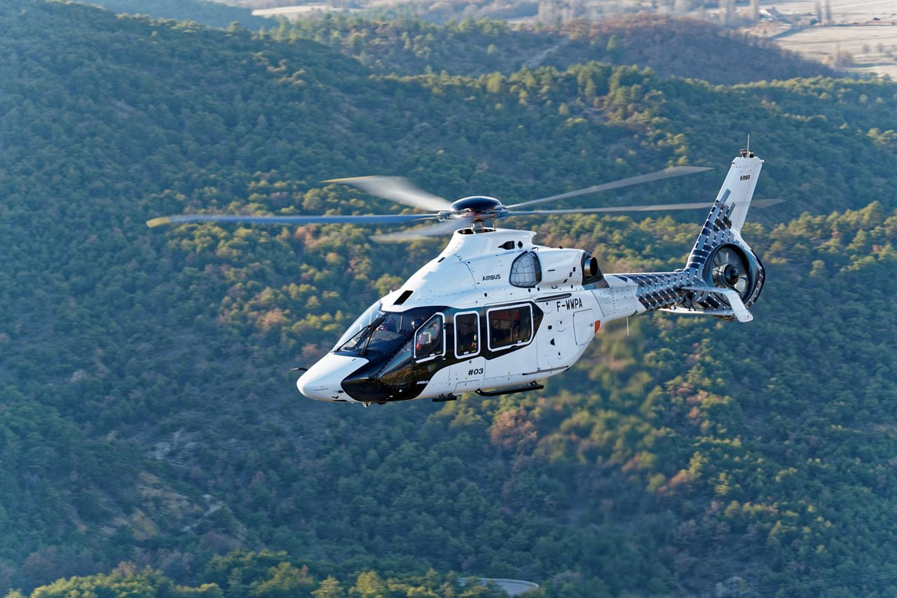Airbus Helicopters has signed the first order for one H160 with an undisclosed customer in Brazil for private and business aviation operations.