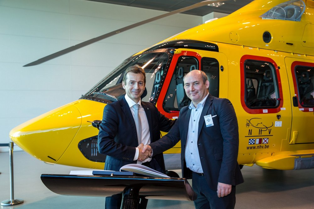 First delivery of the EC175
