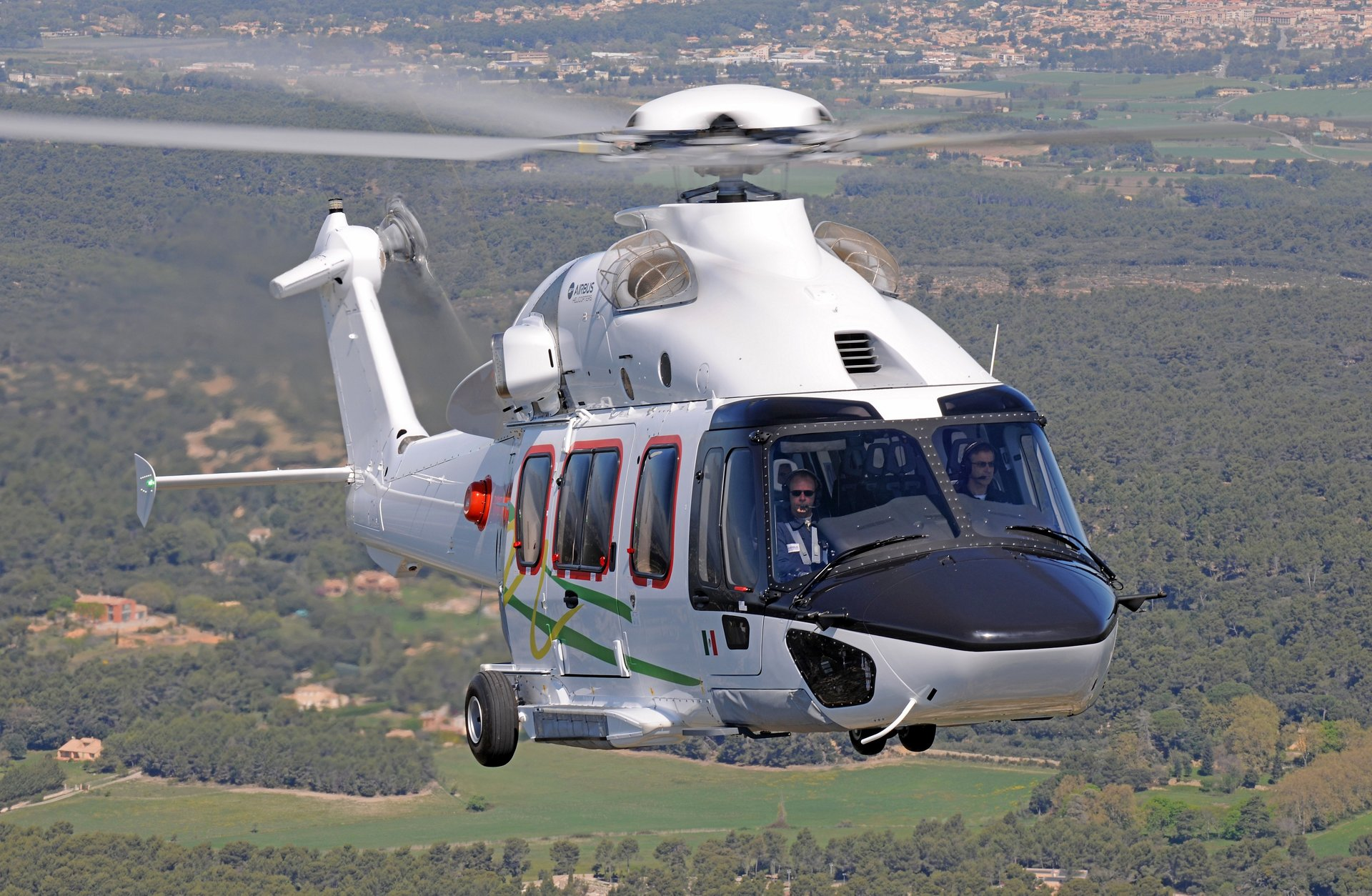 As of August 2016, Airbus Helicopters' new 7-ton class H175 helicopter counts Denmark and Mexico among its countries of operation, increasing its total to five countries, with operations already underway in the Netherlands, Scotland and Ghana.