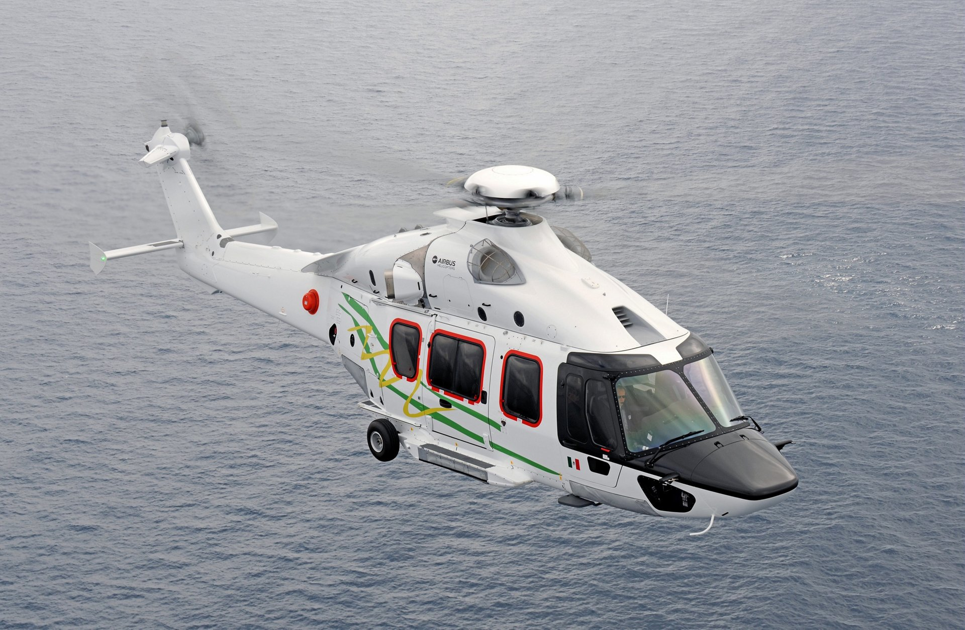 The 7-tonne class H175 (formerly known as the EC175) was developed by Airbus as its new-generation medium-sized rotorcraft, certified in accordance with the latest and most demanding regulatory requirements. Benefits include enhanced flight safety, more volume per seat for passenger comfort, mission versatility, simplified maintenance, and cost effectiveness to match customer expectations.