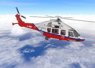 中国交通运输部选择H175进行搜救行动