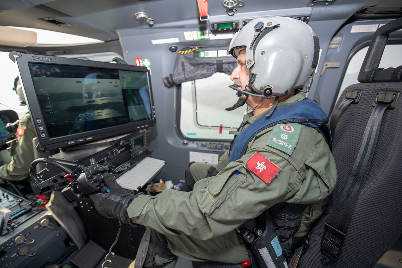 GFS's fleet of H175 helicopters provide a range of public service missions, including maritime and search and rescue.