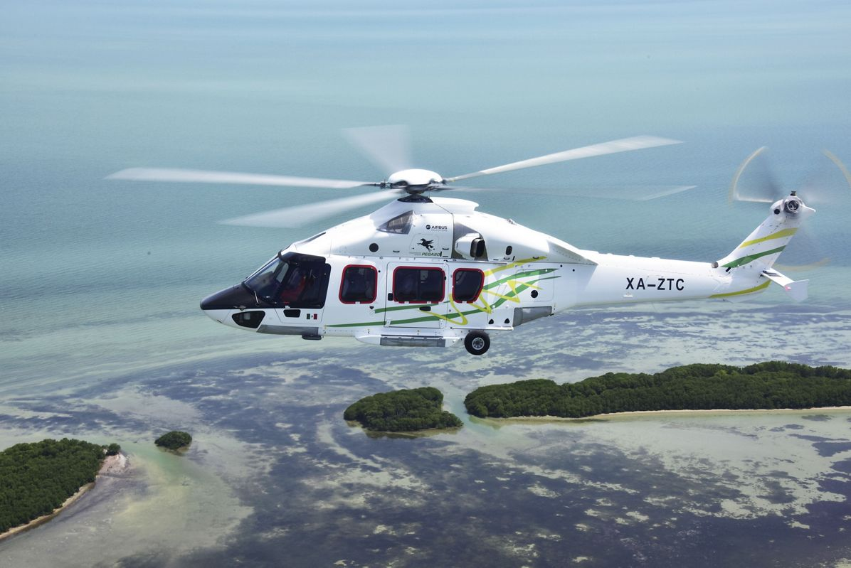 Airbus Helicopters delivers the first H175 to be operated in the Americas