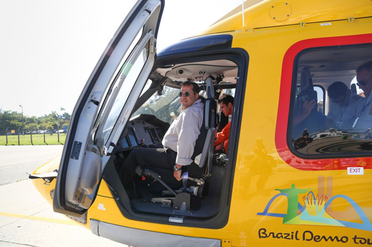 Oil & gas operators get in-depth look at H175 during Brazil demo tour and symposium