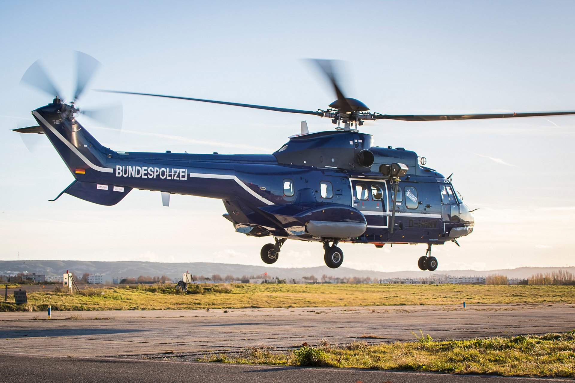 The H215 is a versatile and robust twin-engine helicopter that combines advanced avionics and a reliable platform for rugged multi-mission capabilities.