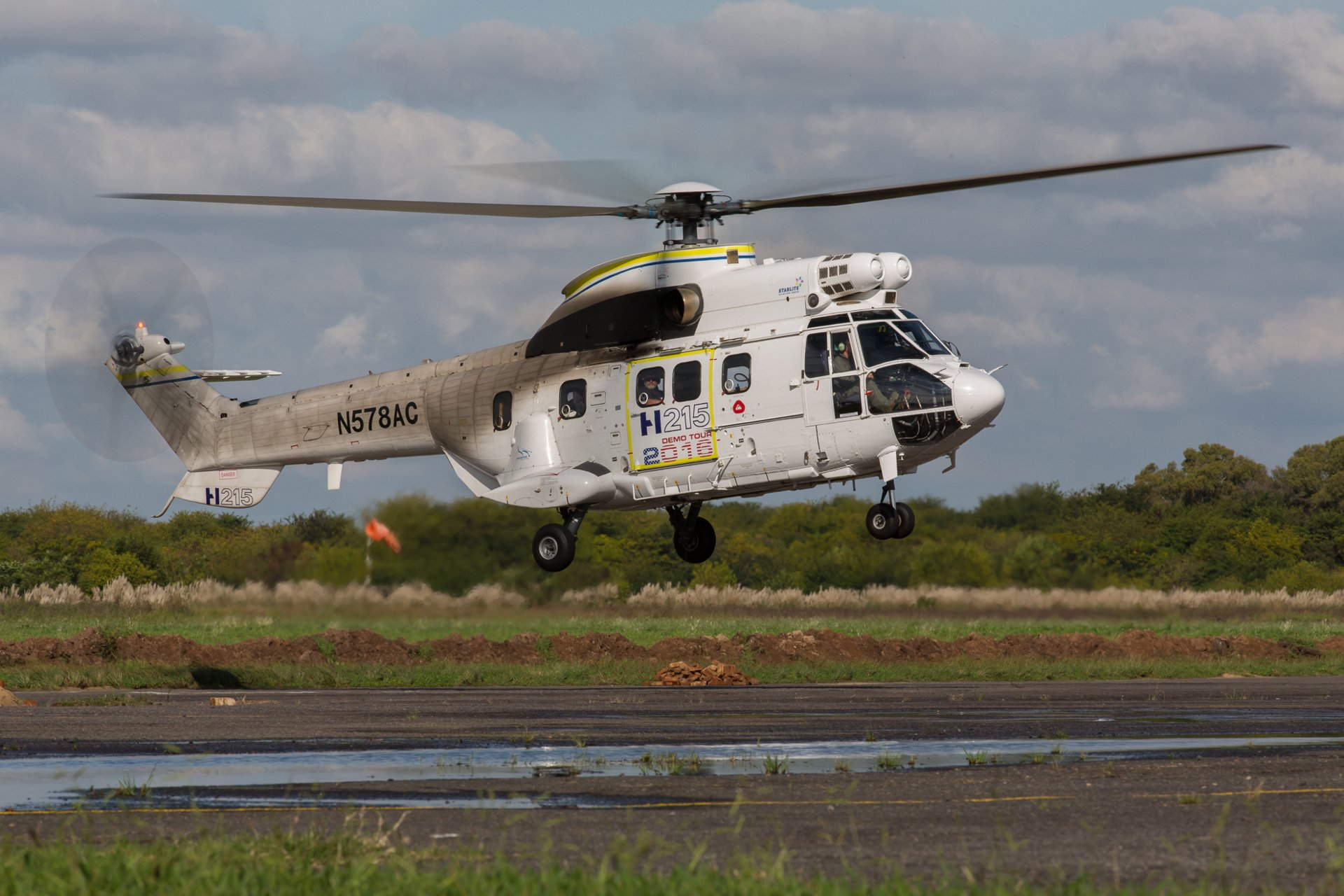 The H215 basks in a successful Latin American Demotour