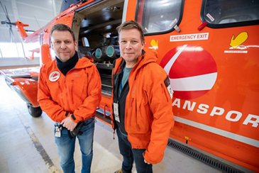 Frank Wilhelmsen and Bård Rannestad
