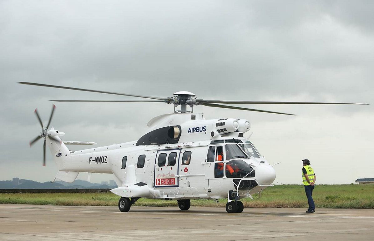 Airbus Helicopters' H215 kicks off its debut demo tour in China