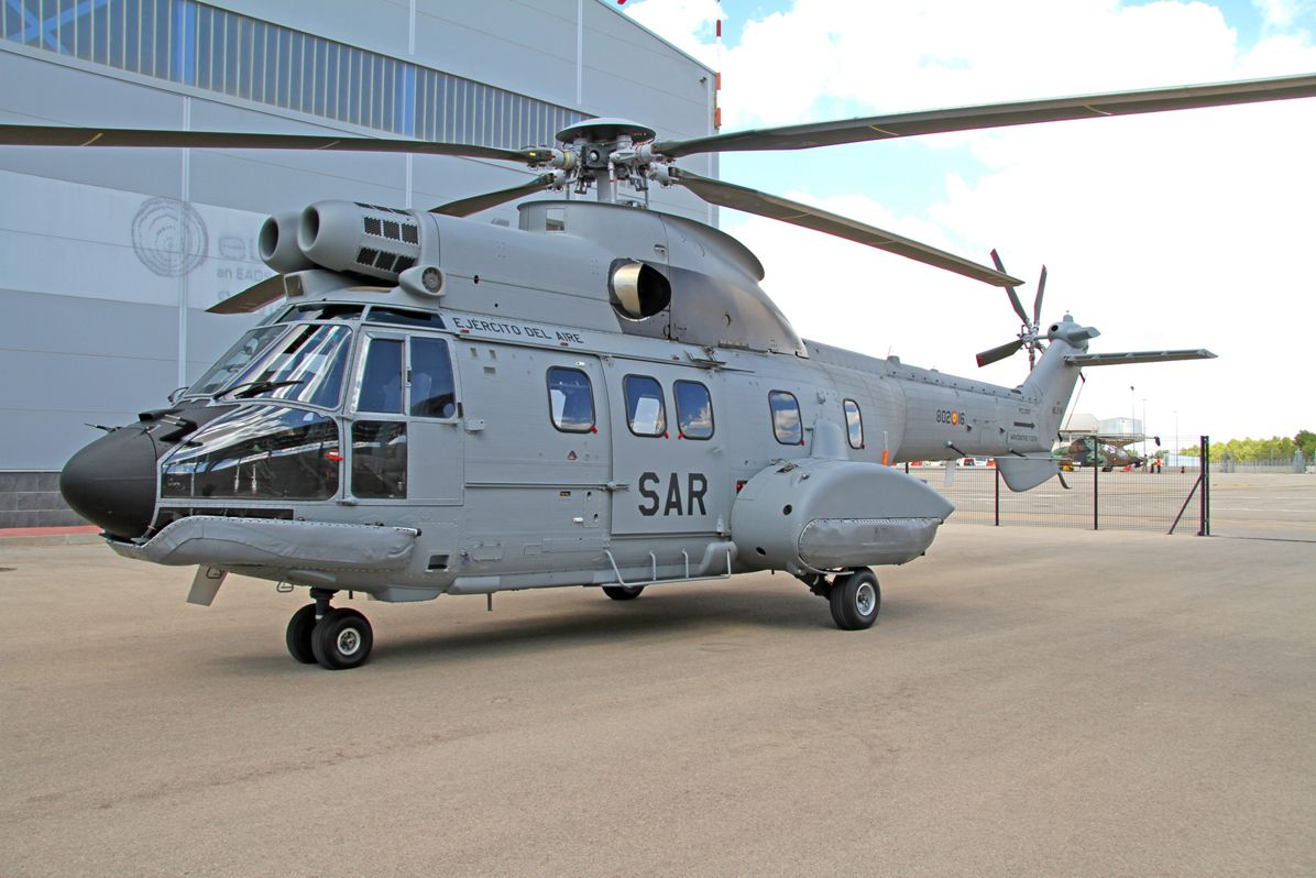 Spanish Air Force takes delivery of its first H215