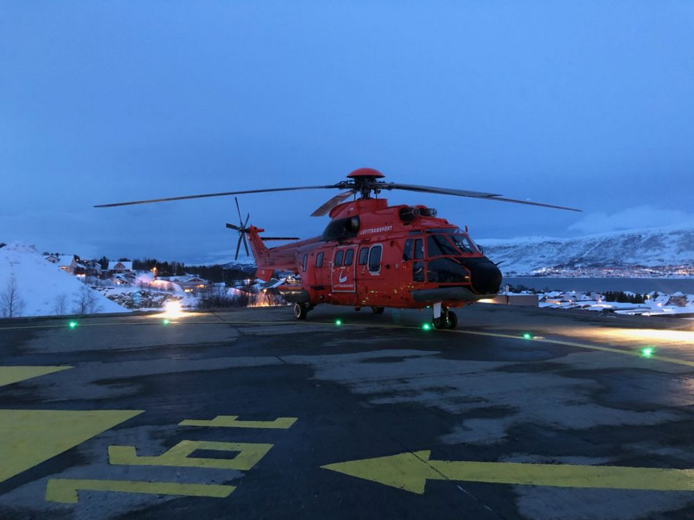 Super Puma drafted in to carry COVID-19 patients in northern Norway