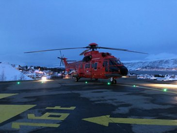 Super Puma at Tromsø