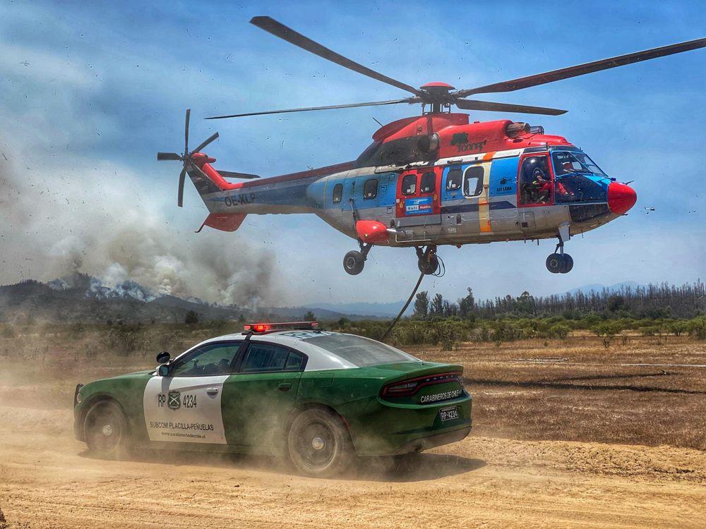 H215 firefighting