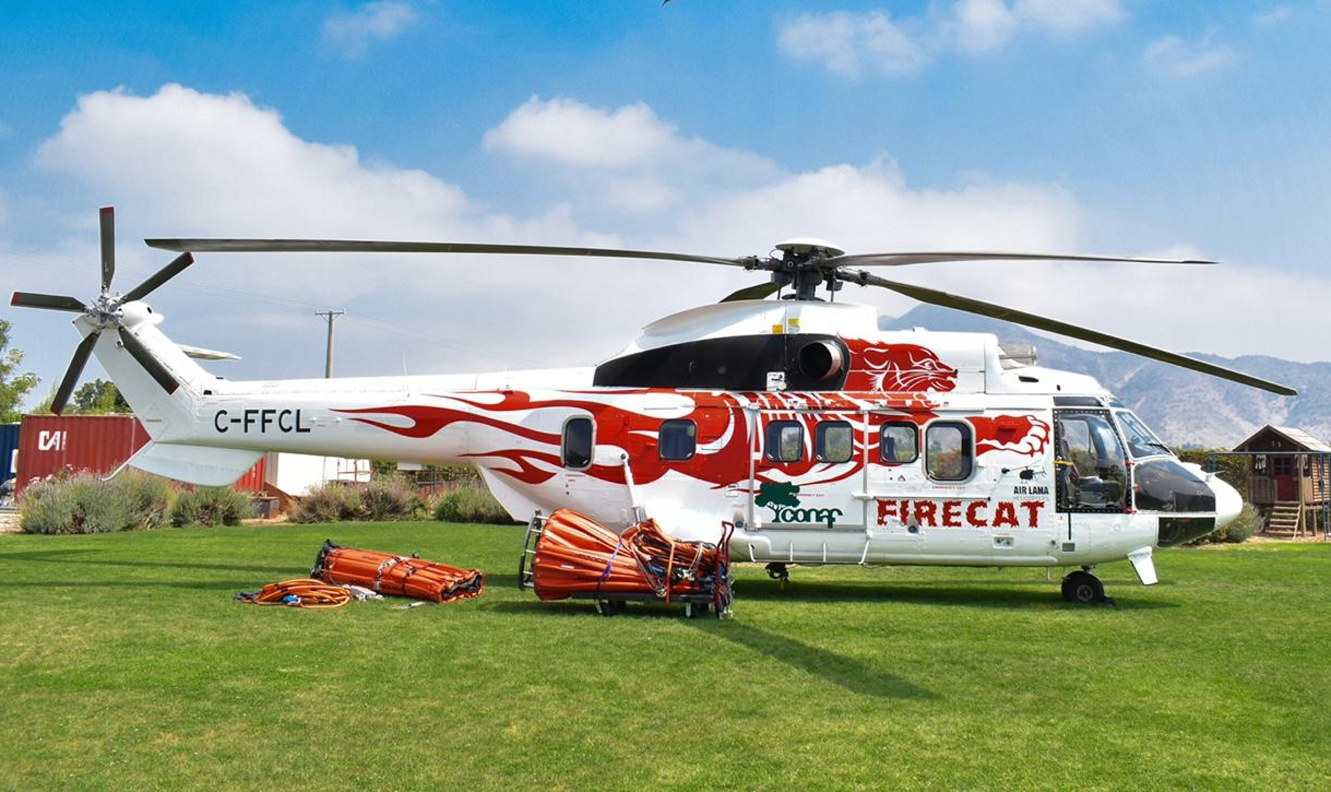"""H215 """"Firecat"""" from Horizon Helicopters"""