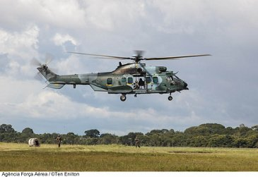 Brazilian Armed Forces Exceed 10,000 flight hours with H225M Caracal