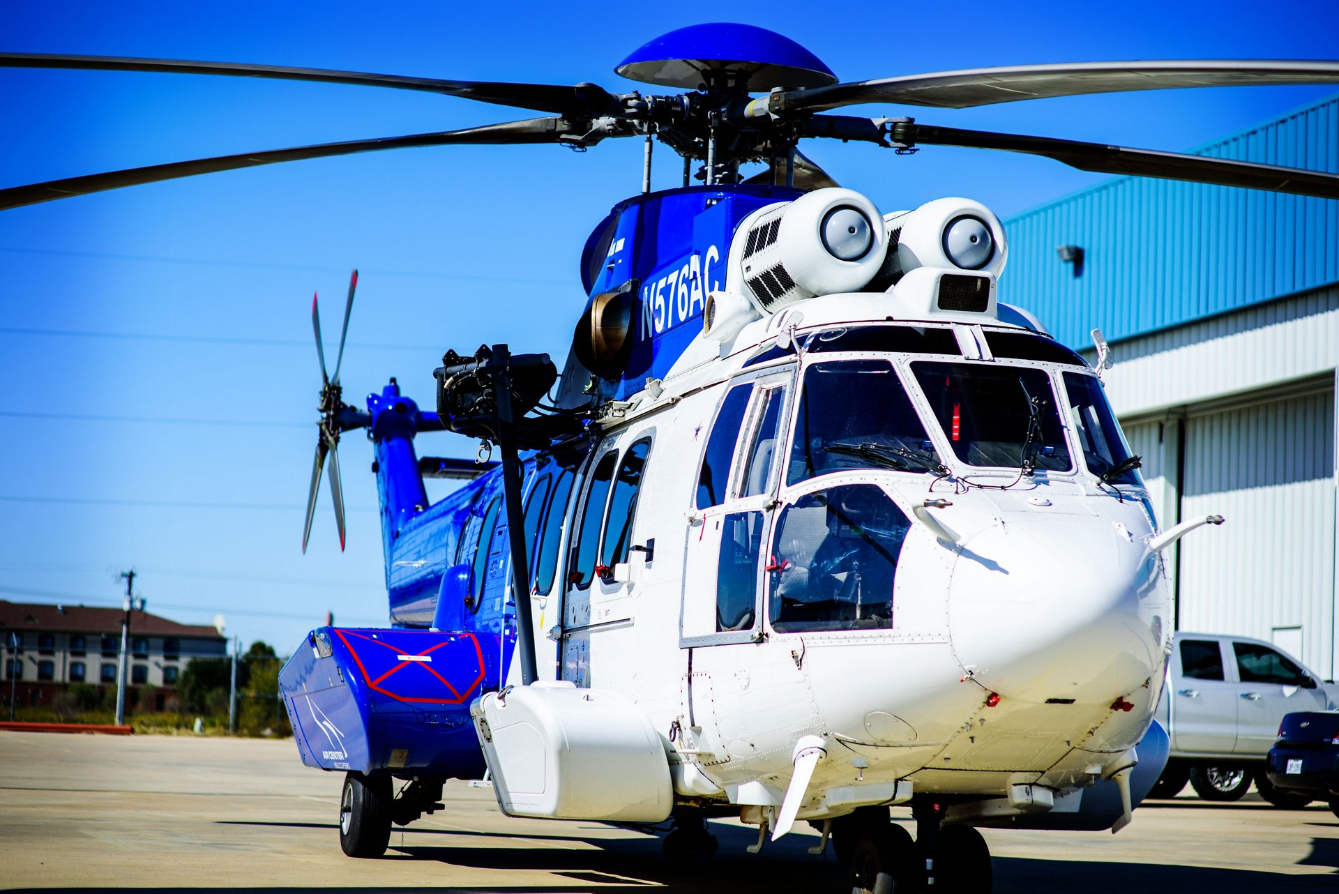 Air Center Helicopters Inc (ACHI) purchased 17 H225 helicopters previously devoted to the oil & gas market. Following the necessary retrofit work, these helicopters are now performing transport and utility missions for the U.S. Government, with an HCare Smart contract signed in October 2019 to guarantee their maximum availability.