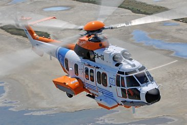 Argentine Coast Guard's Airbus-built H225 in SAR configuration