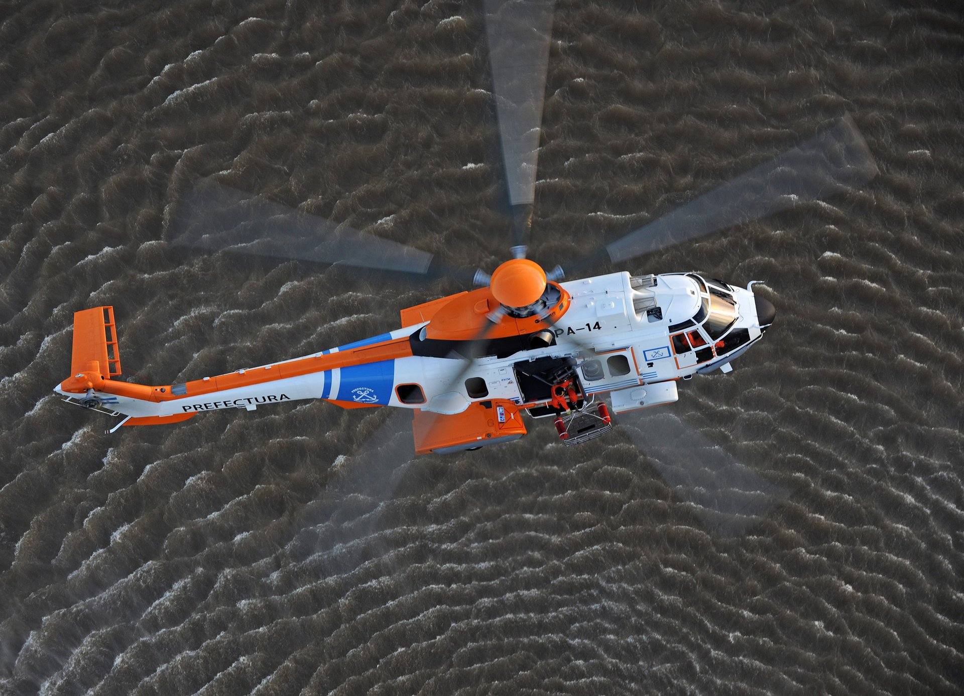 H225 for search and rescue missions