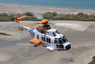 The Argentine Coast Guard receives its first H225 helicopter