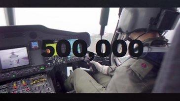 Helionix: 500,000 flight hours