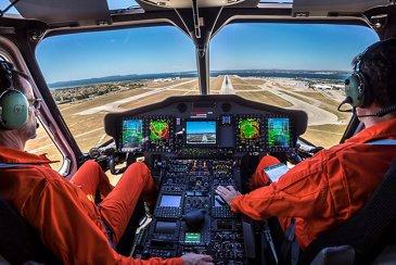Helionix Avionics Cockpit.