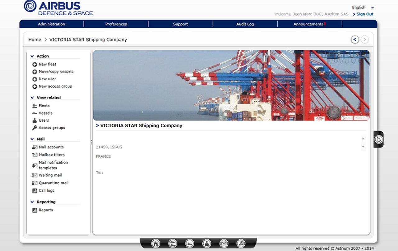 Airbus  SkyFile Mail Manager to improve email account and traffic management capabilities for maritime