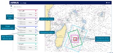 Ocean Finder Web Interface