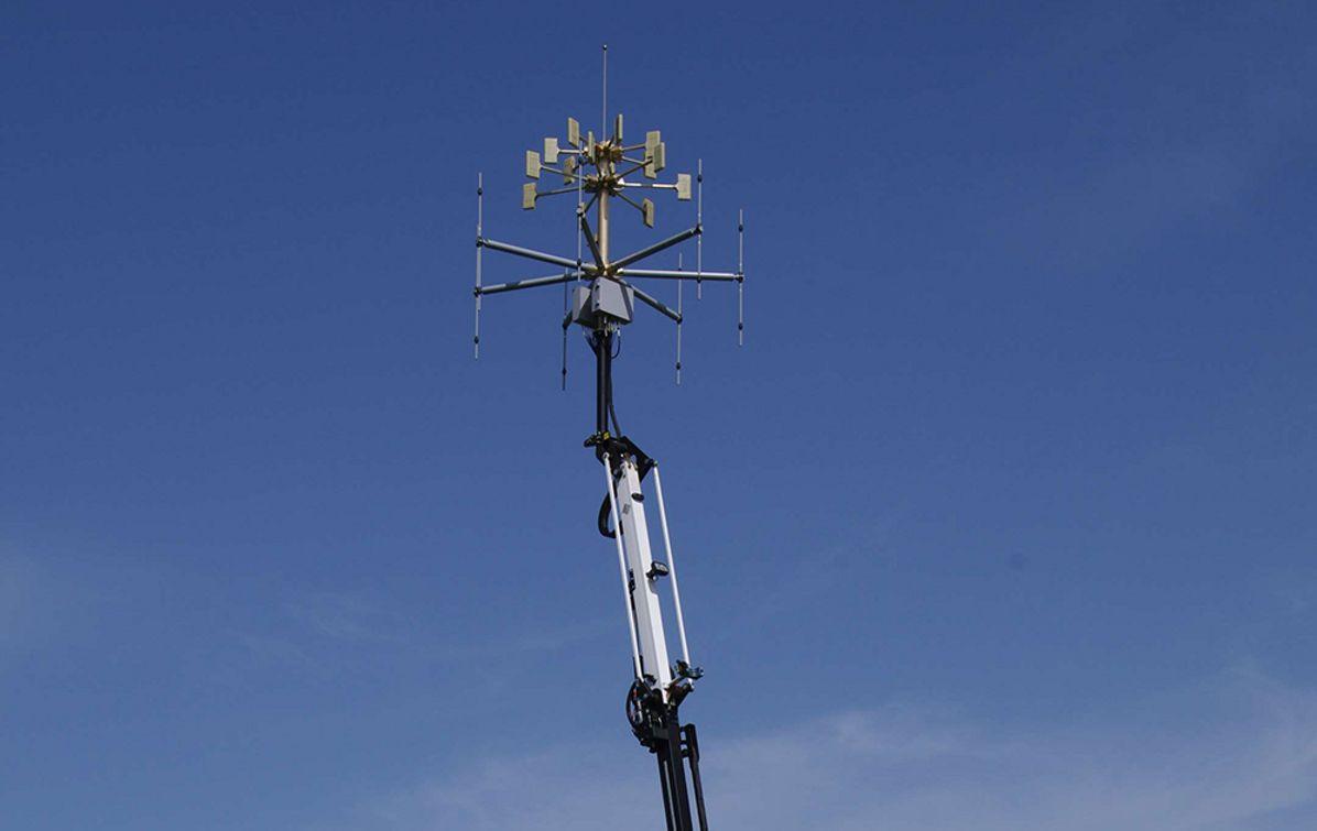 New passive radar to improve air traffic management.